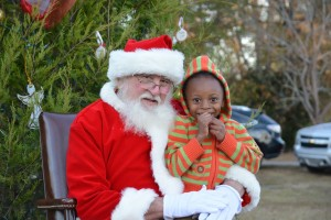 Community Christmas Celebration/ Santa Portrait Samples