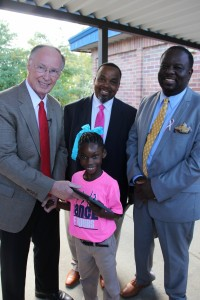 Governor Bentley visits J.E. Hobbs October 18, 2016